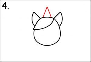 Step 4 - Add A Magical Unicorn - How To Draw A Unicorn